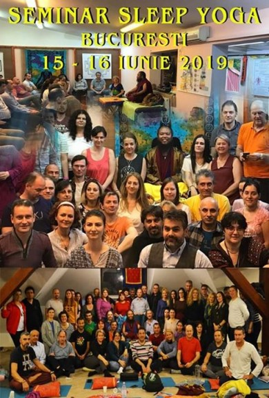 Seminar sleep yoga bucuresti 14-16 iunie