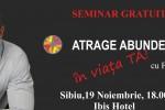 See Sibiu: Seminar gratuit – Atrage Abundenta in Viata Ta! details