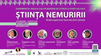 Stiinta nemuririi_redescoperirea sacrului prin stiinta_bucuresti