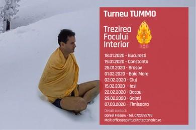 Trezirea focului interior - Turneu Tummo 2020