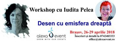 Workshop Brasov: Desen Cu Emisfera Dreapta Cu Iudita Pelea