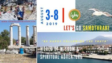 WOW Academy - Insula Samothraki, Grecia - 2019
