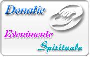 Doneaza pentru Evenimente Spirituale